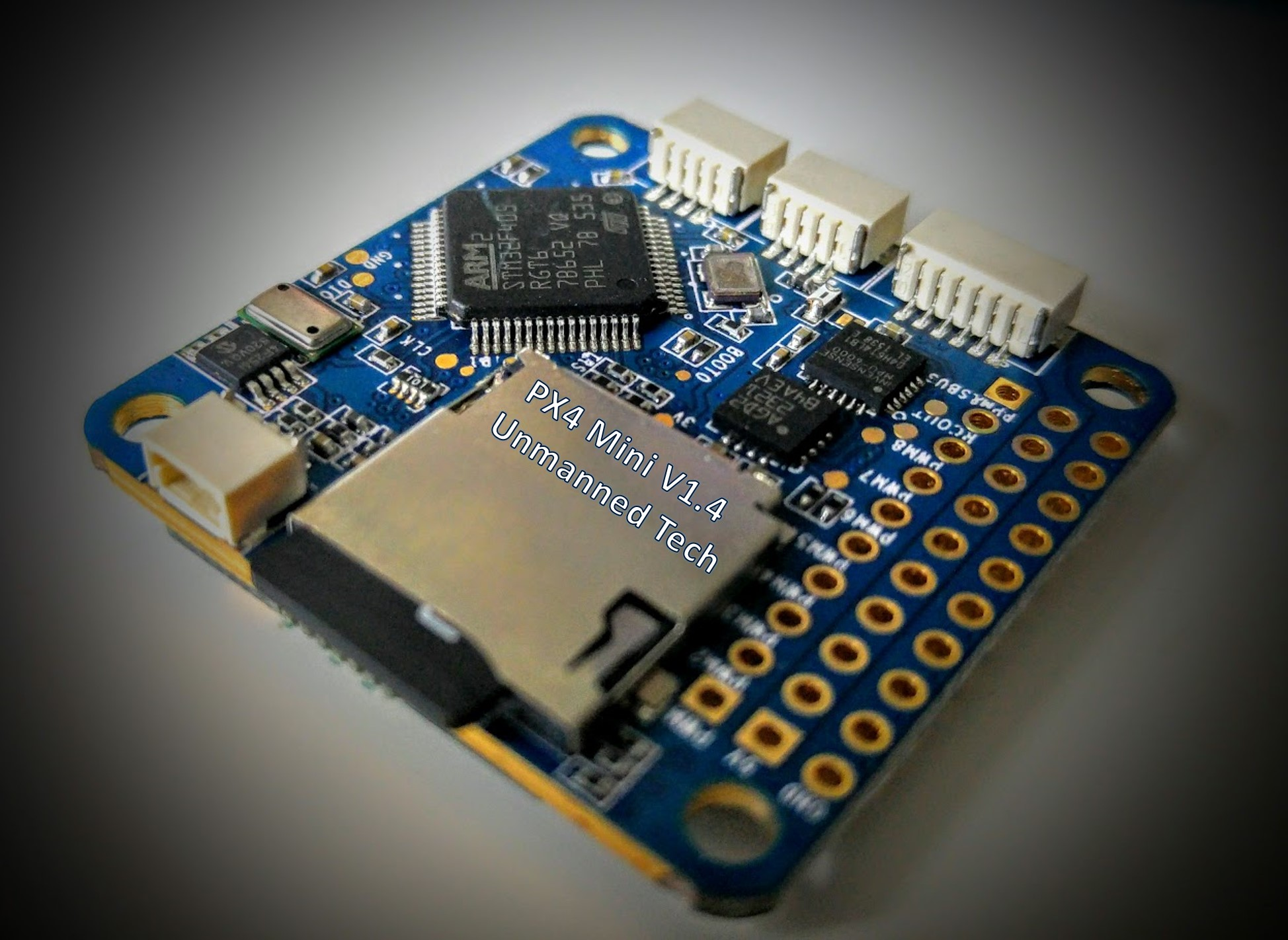 First Look At The Px4 Mini Autopilot Dronetrest Blog Connection Headers On Circuit Board You Would A Full Size Pixhawk But All Important Ports Are Available So Can Connect Suite Of Sensors And Peripherals To Your