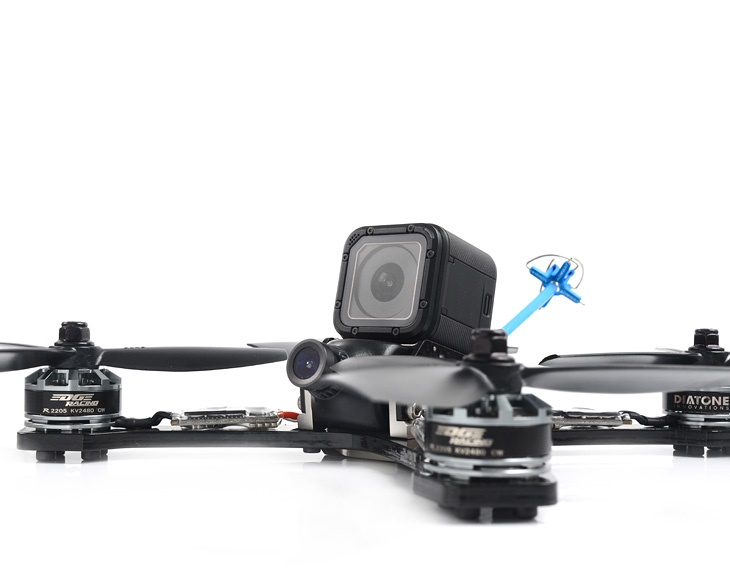 Crusader GT2 Racing Quadcopter  – a first look