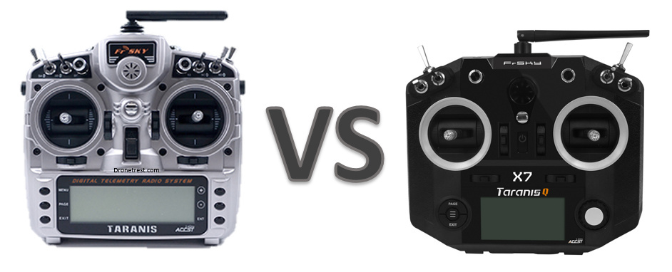 Taranis X9D+ or Taranis Q X7 – which is better to buy?