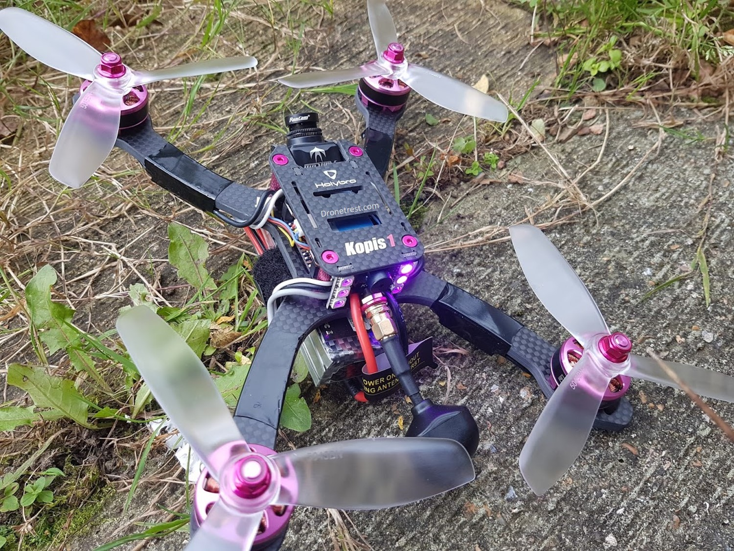 HolyBro 🗡️ Kopis 1 FPV Quadcopter Review –  Low Deck, Top Spec