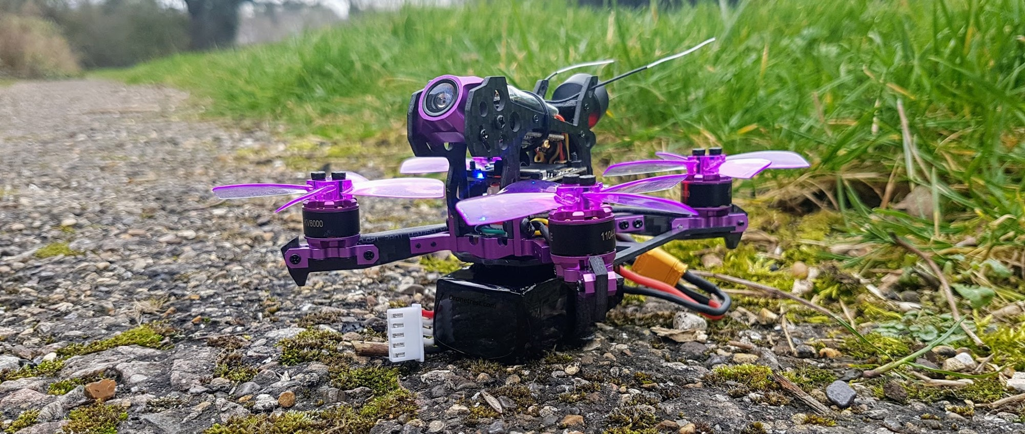 Eachine-105S-before-takeoff