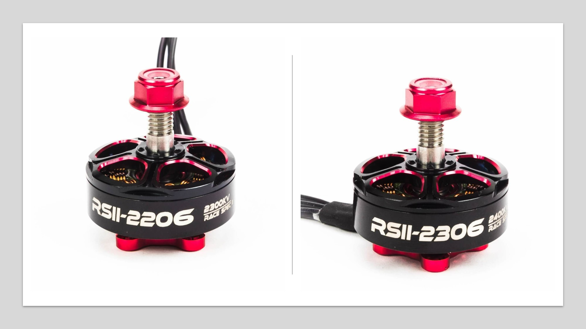 Emax 🔥 Red Bottom V2 Motors  Announced (RSII 2206 & RSII 2306)