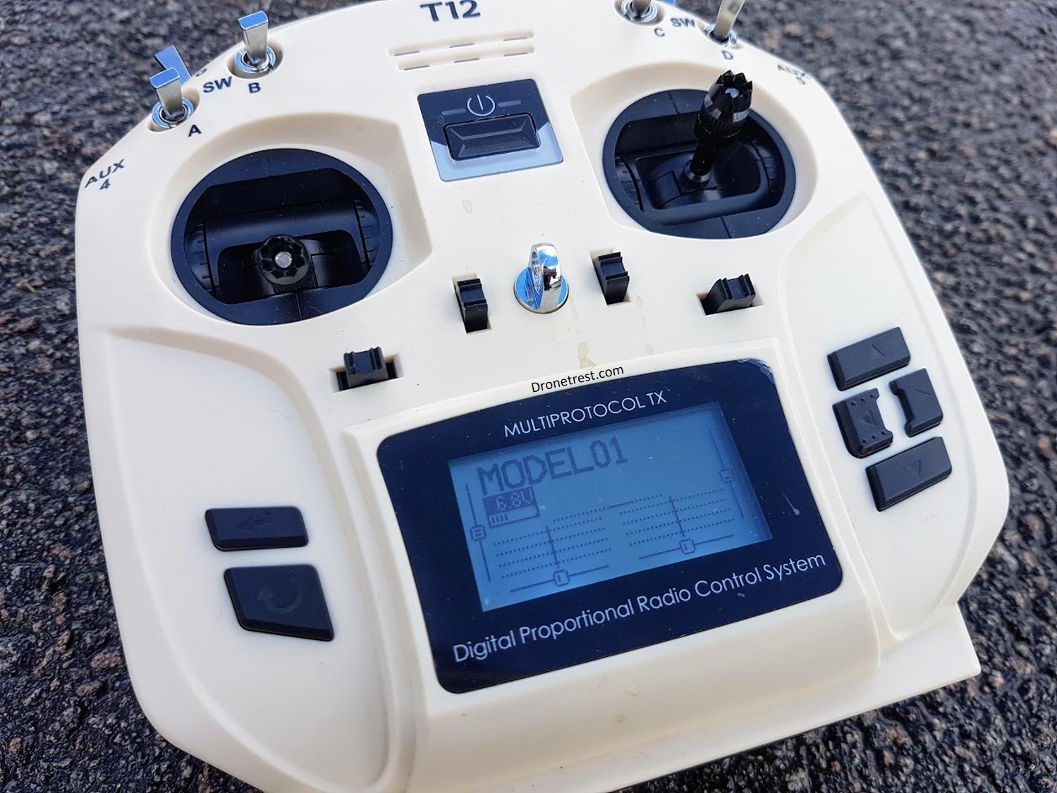 OpenTX, but small… and cream coloured? – DroneTrest Blog